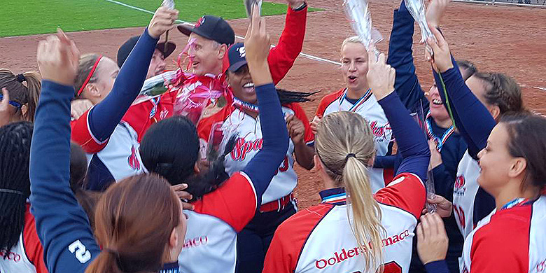 Sparks win title in Dutch Golden Softball League after thriller