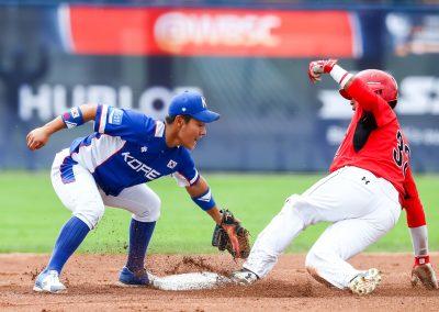 20170903 U-18 Baseball World Cup Naylor Canada  Bae Jihwan Korea (Christian J Stewart-WBSC)