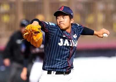 20170904 U-18 Baseball World Cup  Fumimaru Taura Japan (Christian J Stewart-WBSC)