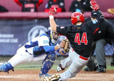 20170904 U-18 Baseball World Cup Bertossi Italy Stovman Canada (Christian J Stewart-WBSC)