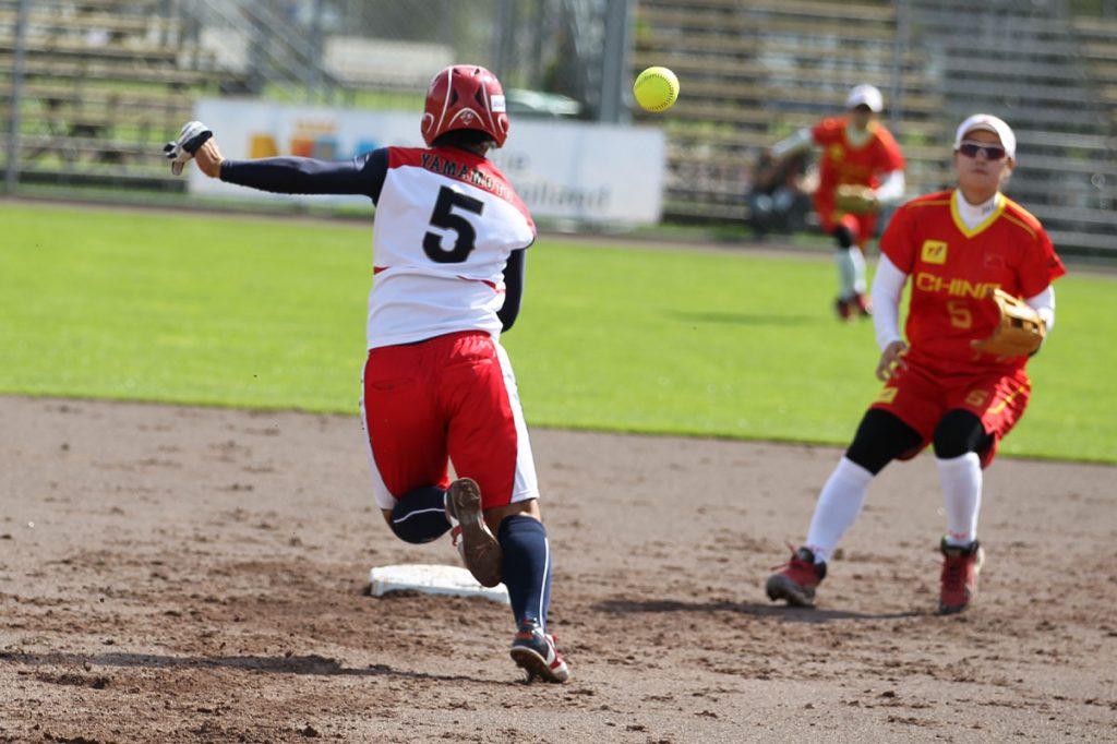 世界棒壘總會女子壘球世界錦標賽亞洲資格賽在台灣開打