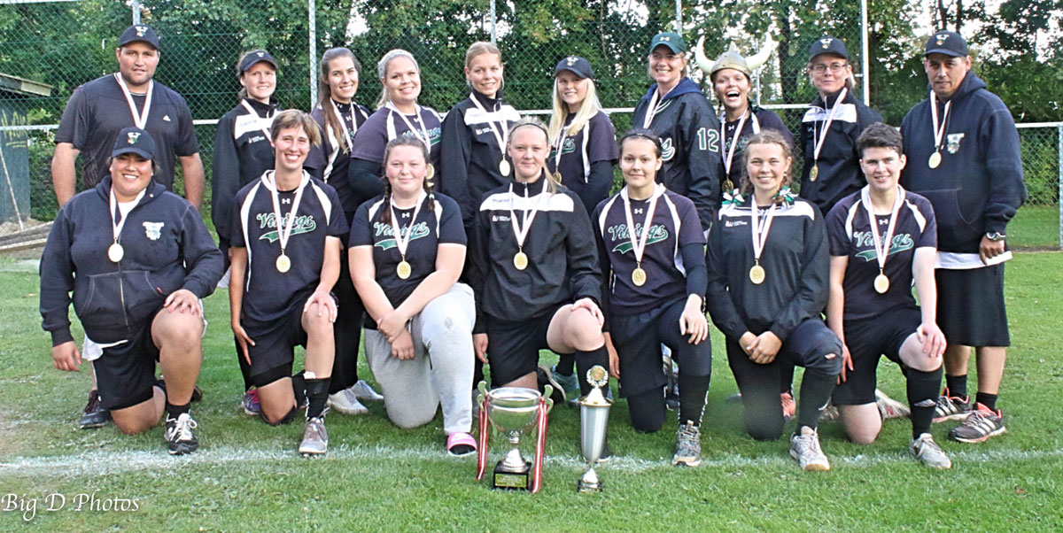 Denmark Softball National Championship: Vikings crowned Women's Champion; Bulls Men's Champion