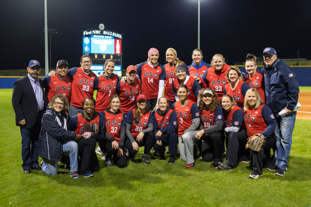 USA Softball celebrates 20th anniversary of Olympic Softball