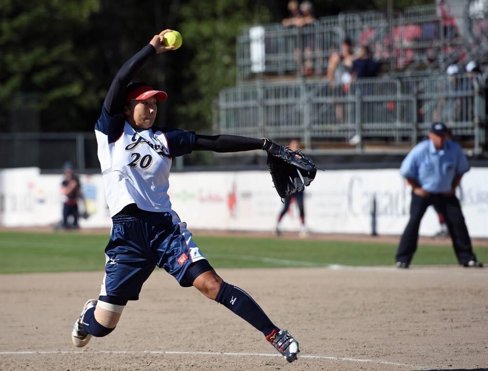 2016 Women's Softball World Championship Day 5 Game Summary