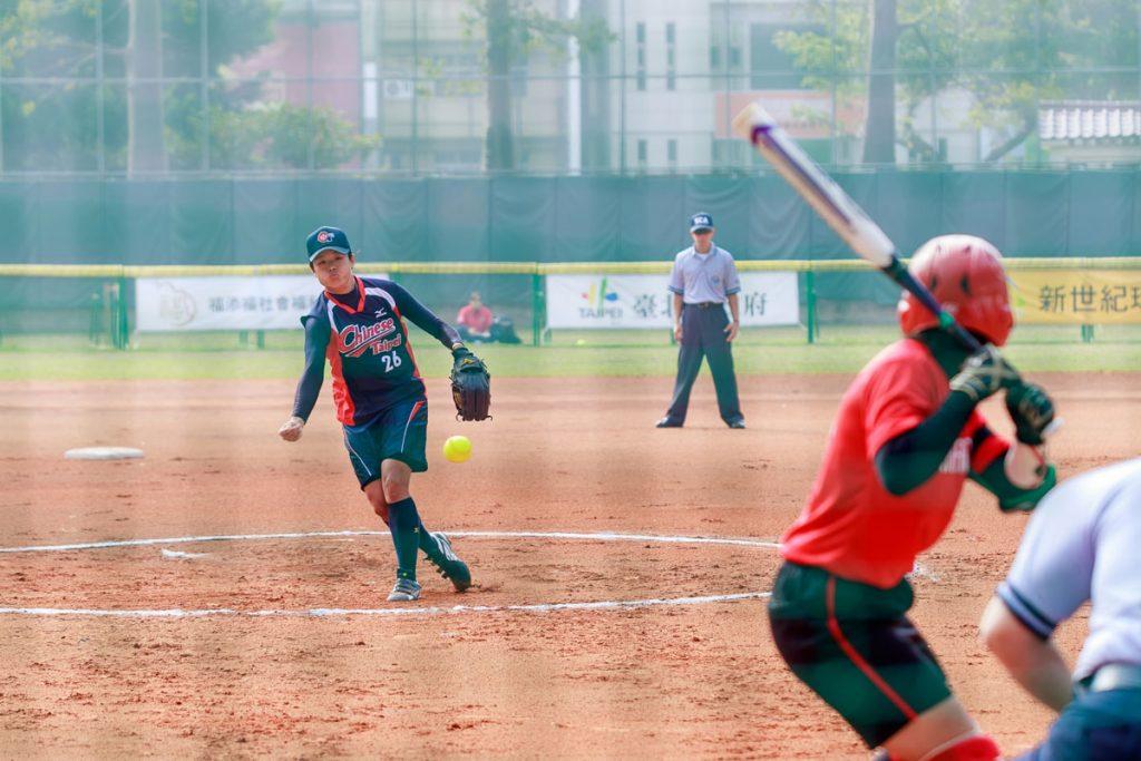 亞洲女子壘球錦標賽在台灣開幕