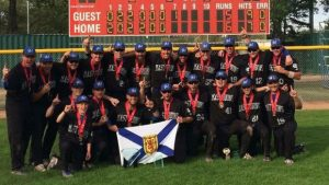 Nova Scotia team beats 5-time defending champs to win Canada's Men's National Softball title
