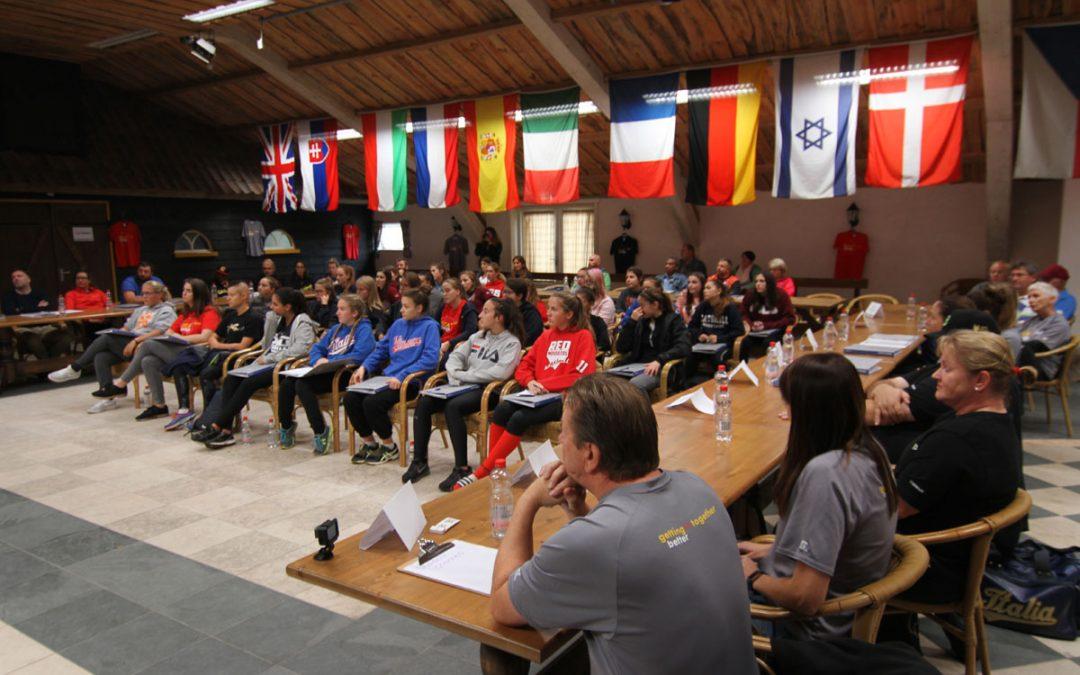 Campamento ESCA anfitrión de 12 naciones para entrenamiento intensivo