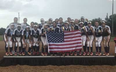 Home runs power USA to Gold at WBSC Junior Women's Softball World Championship
