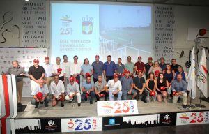 The U-23 National Teams of Spain and Italy celebrate 25th anniversary of Barcelona Olympic baseball tournament