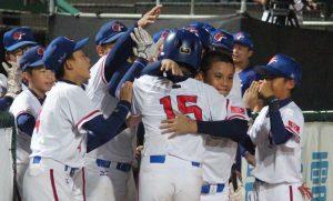 台湾、韓国戦コールド勝利 2017 U-12 WBSC野球のワールドカップスーパーラウンド