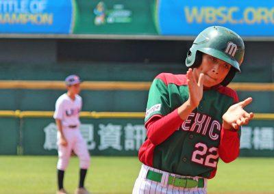 20170805 U-12 Baseball World Cup Macias Mexico runs the bases after Tirado homer run vs USA