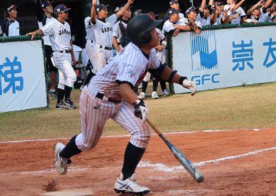 20170805 U-12 Baseball World Cup Yamaguchi walk off double vs Korea