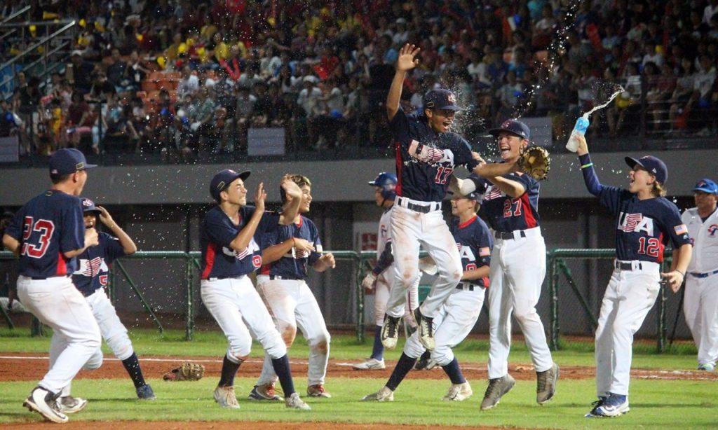 アメリカ優勝 U-12ベースボールワールドカップ