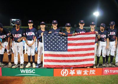 20170806 U-12 Baseball World Cup USA World Champions