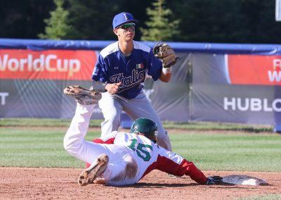 20170908 U-18 Baseball World Cup Angioi Italy Luis Gonzalez Mexico (James Mirabelli-WBSC)