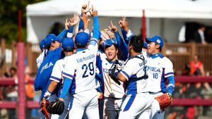 Korea beat Japan, will face USA in final of U-18 Baseball World Cup
