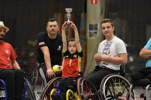 Sport for All: Belgium holds first Wheelchair Softball Tournament