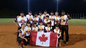 Canadá derrota a Bahamas para ganar la Copa Mundial Co-Ed de Lanzamiento Lento WBSC 2017
