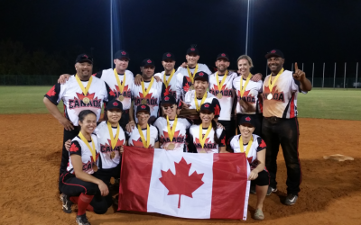 Canada defeats Bahamas to win 2017 WBSC Co-Ed Slow Pitch Softball World Cup