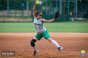 Women's Softball European Championship: DAY 2 includes engagement at home plate