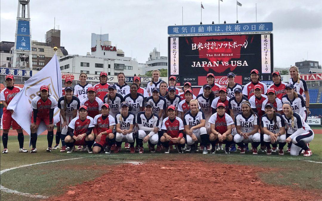 No. 1 Japan wins USA v Japan All-Star Softball Series with dramatic walk-off grand slam
