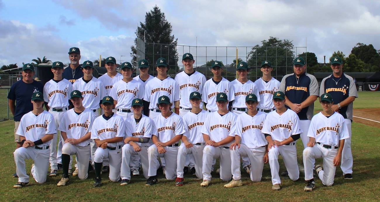 Australia sweeps the Oceania U-15 Baseball Championship