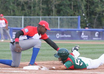 20170904 U-18 Baseball World Cup Yuri Fernandez Cuba Martin Perez Mexico (James Mirabelli-WBSC)