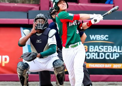 20170906 U-18 Baseball World Cup Martin Perez Mexico Home Run (Christian J Stewart-WBSC)