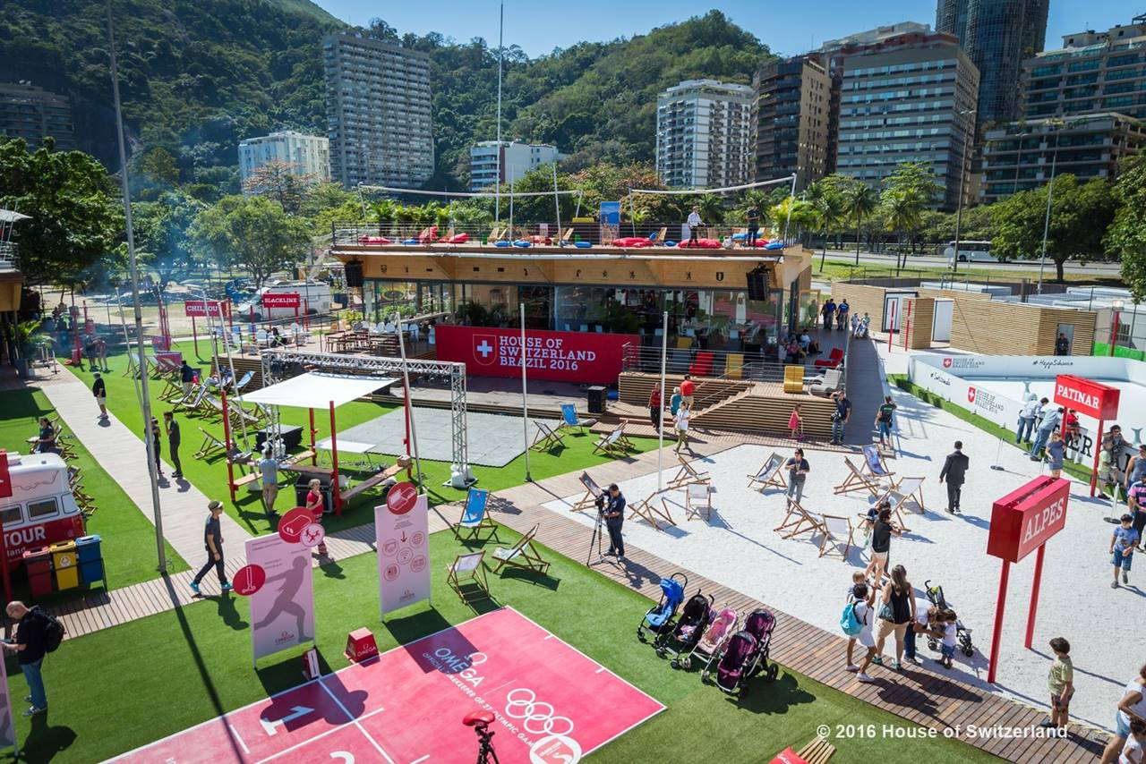 The Swiss National House at the Rio 2016 Olympic Games