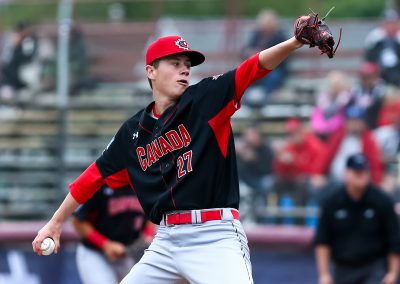 20170906 U-18 Baseball World Cup Griffin Hassall Canada (James Mirabelli-WBSC)