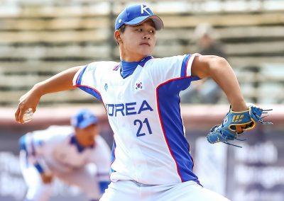 20170909 U-18 Baseball World Cup Kim Min Korea (Christian J Stewart-WBSC)