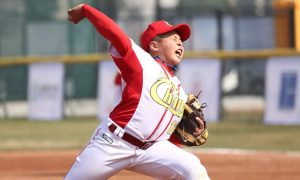 Host China wins big and Japan no-hitter highlight opening of U-12 Baseball Asia 2016