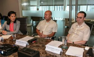 WBSC Secretary General Beng Choo Low busy with meetings in Manila
