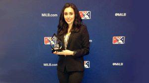 メキシコ野球リーグLMBが今年度の役員賞(Executive of the Year)をはじめて女性役員に授与