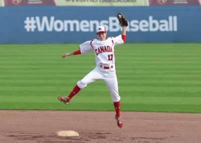 CAN Women's National Team - Baseball World Cup 2016