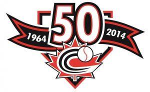 Baseball Canada celebrates Golden Anniversary, unveils commemorative logo