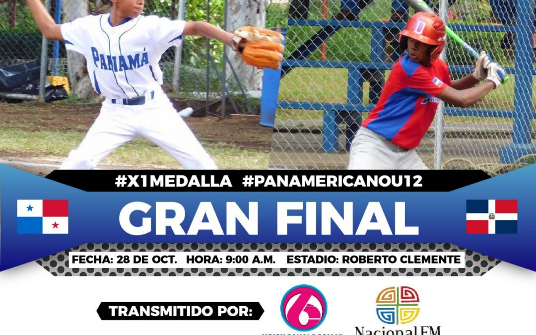 Dominican Republic and Panama to play for the U-12 Pan American Baseball title