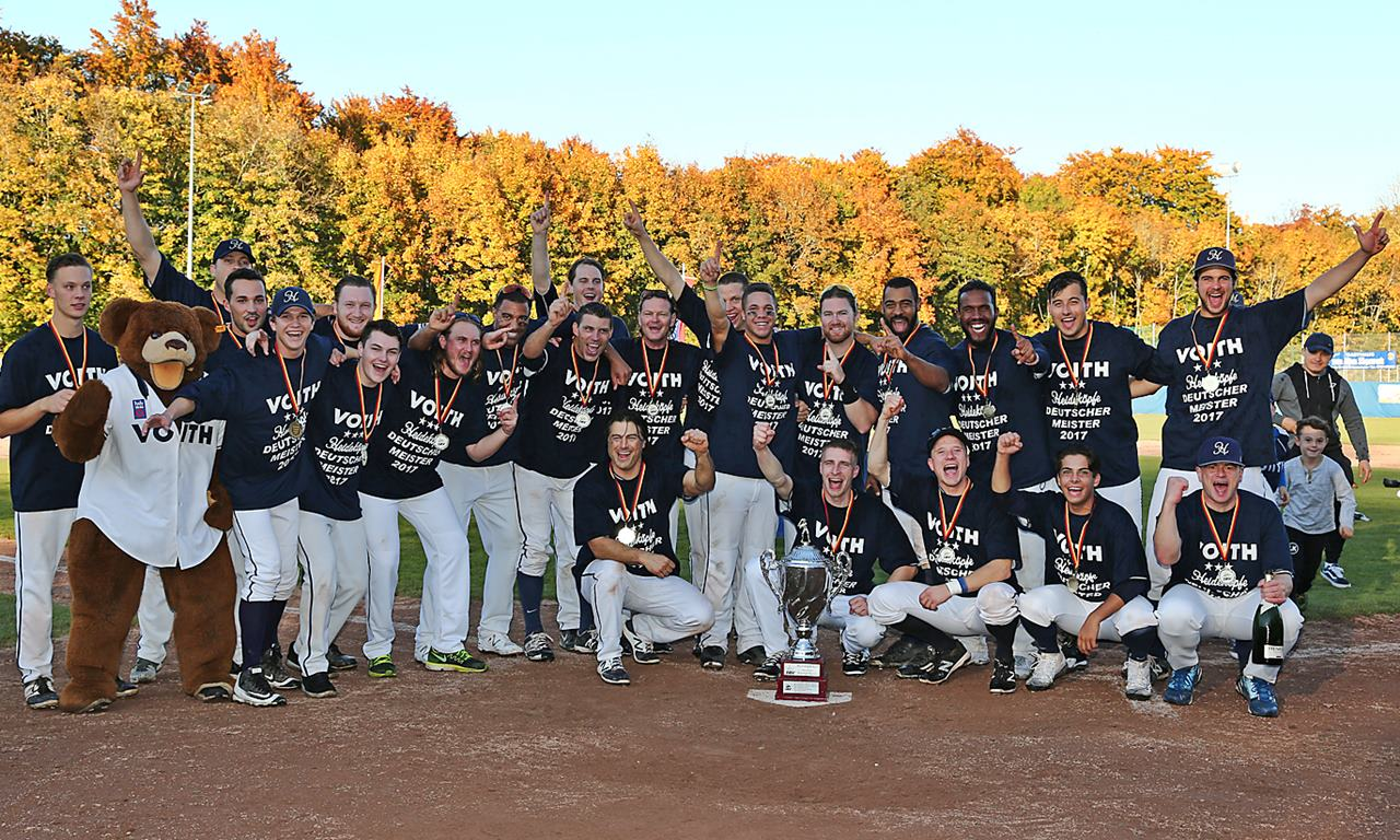 Europe: Heidenheim wins German baseball crown; Blagoevgrad best club in Bulgaria