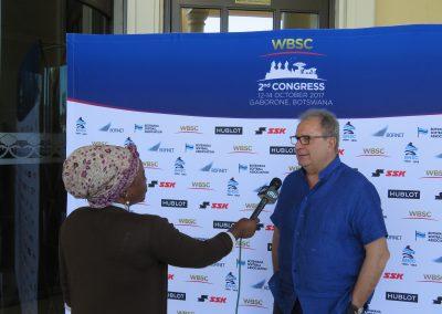 WBSC President | Riccardo Fraccari
