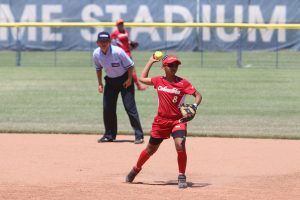 Day 1 at the 2015 WBSC Junior Women's Softball World Championship