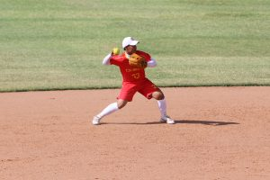Day 2 at the 2015 WBSC Junior Women's Softball World Championship