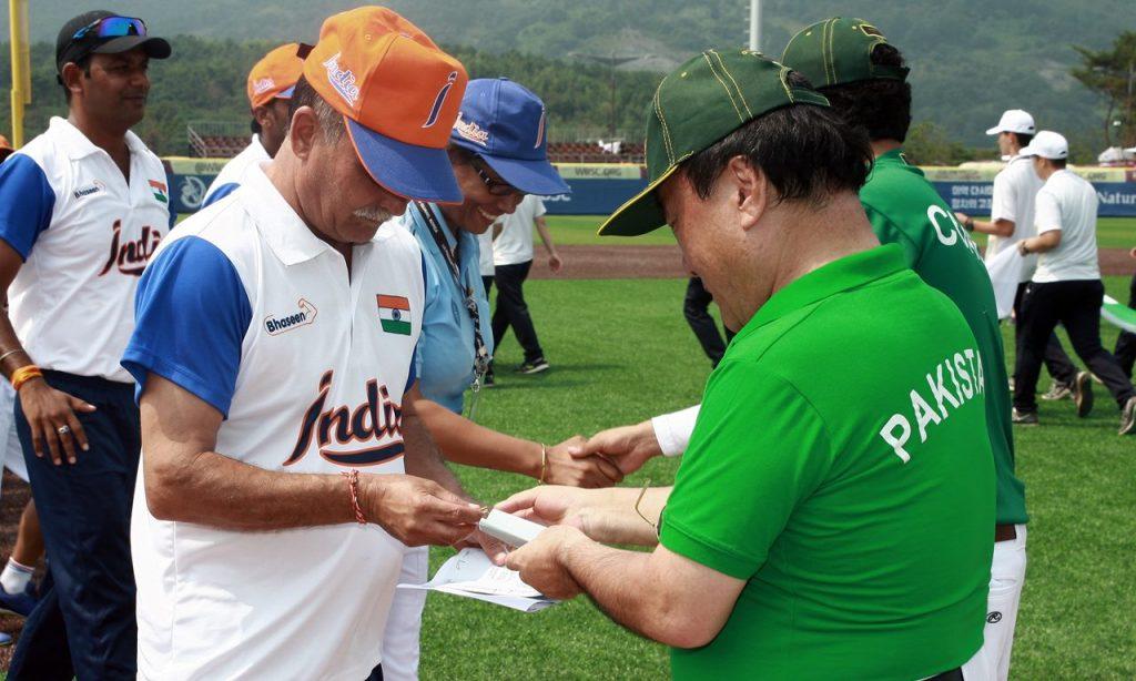 인도와 파키스탄 간의 야구시리즈 - '두바이컵' 탄생