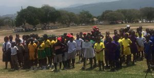 Jamaican Sports Minister lauds development efforts during Primary School League opening