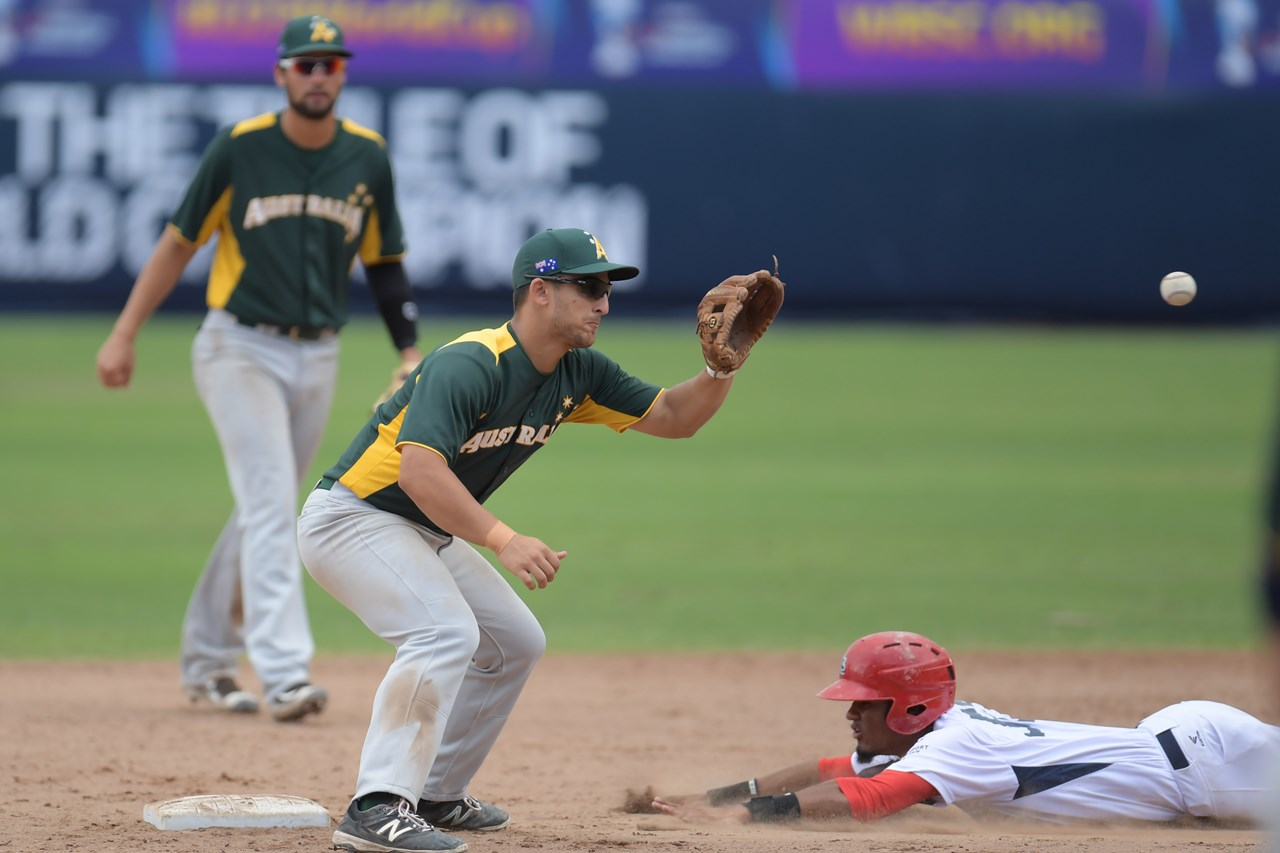 Conor MacDonald 2 HRs power No. 13 Australia past No. 15 Panama in U-23 Baseball World Cup