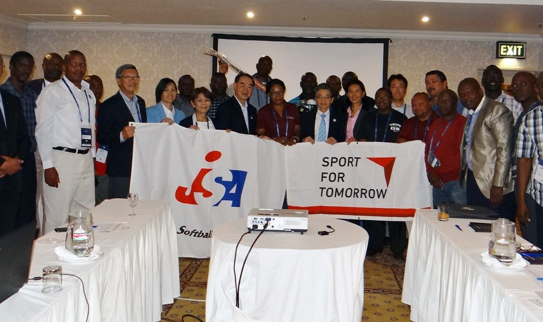 Japan Softball, JICA helping to grow the sport in Africa with latest donation at WBSC Congress