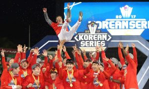 Kia Tigers win record 11th KBO Korea Series in five sold out games