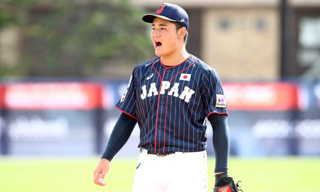 三位侍武士U-18世界盃棒球賽明星在日本職棒選秀會第一輪中選