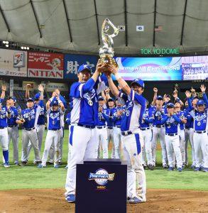 世界野球プレミア12 初代王者は韓国 決勝8対0でアメリカに大勝