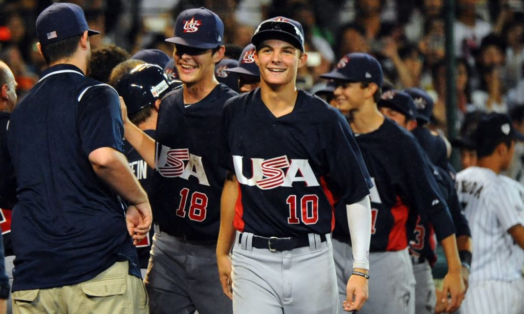 WBSC U-18 Baseball World Cup stars shine in MLB Draft as Mickey Moniak selected No. 1 overall