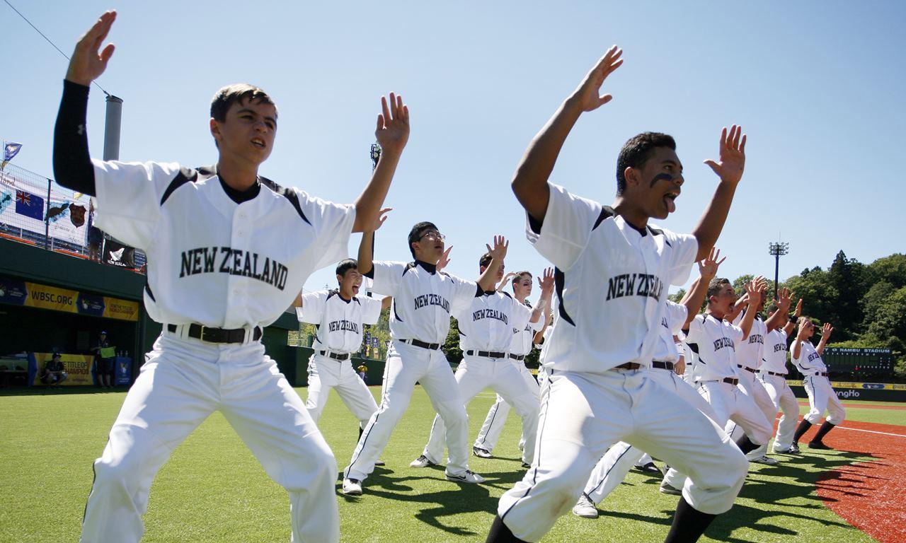 NZL HAKA - WBSC U-15 Baseball World Cup 2016